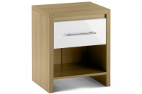 Stockholm 1 Drawer Bedside Chest
