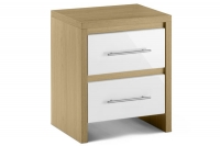 Stockholm 2 Drawer Bedside Chest