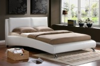 Carnaby Faux Leather Bed