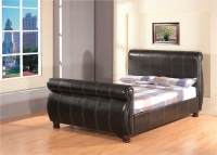 GFW Chicago Sleigh Bed