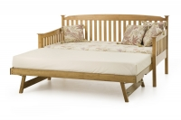 With trundle bed