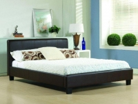 Hamburg Faux Leather bed