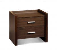 Havana 2 Drawer Bedside Chest