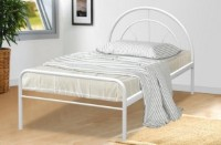 Miami Bedframe White or silver