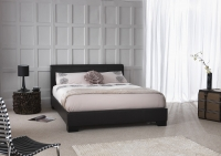 Serene Parma faux leather bedstead