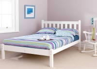 Friendship Mill Shaker Bed in White
