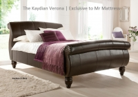 Kaydian Verona Leather bed