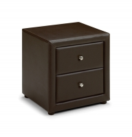 Vienna 2 Drawer Bedside