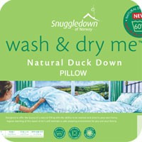 Natural Duck Down Pillow