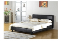 GFW Dream Faux Leather Bed