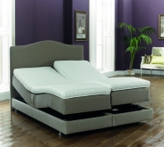 Bodyease Mayfair Adjustable bed with Memory Foam Topper