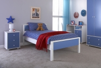 GFW Miami Bed in Blue