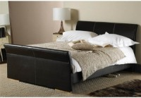 Monaco Faux Leather Bedstead