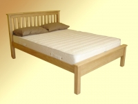 Paul Maxfield Shaker Bed in Pine